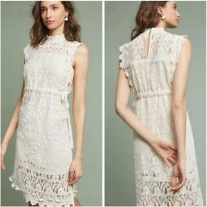 NWT $168 Anthropologie Eri + Ali Orla Lace Dress